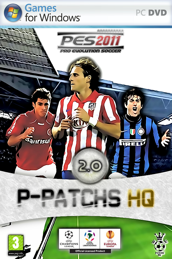 pes 2011 P-Patchs HQ 2.0