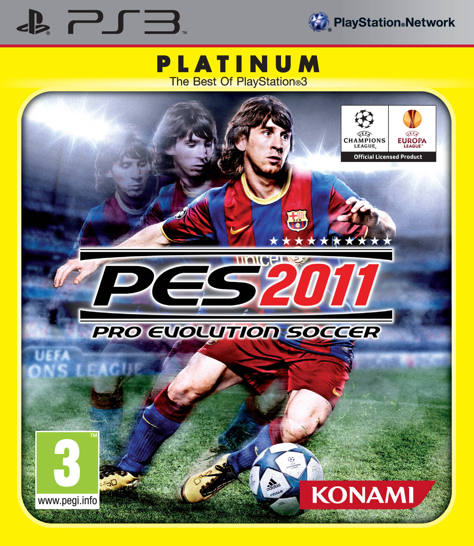 PES 2011 PS3 Platinum