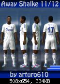 pes 2011 Shalke 04 11/12 Away Kit by arturo610