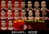 FIFA 11 AC Milan Facepack by Simo4u