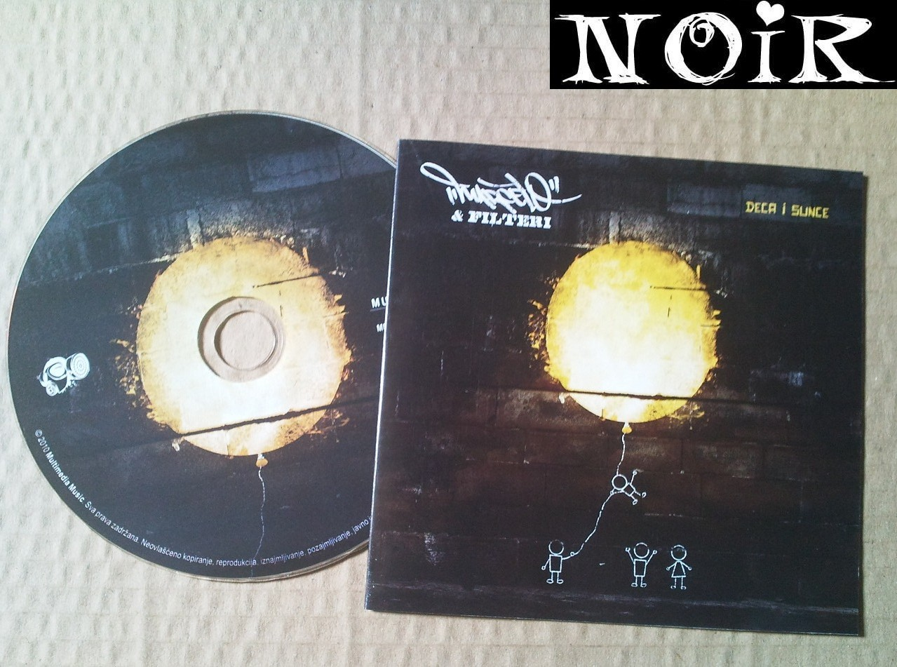 Cover: Marcelo and Filteri - Deca I Sunce-RS-2010-NOiR