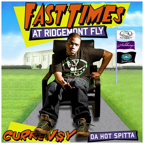 Cover: Currensy - Fast Times At Ridgemont Fly-Bootleg-2011-UMT