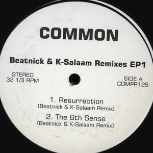 Cover: Common - Beatnick and K-Salaam Remixes EP 1-Bootleg_VLS-2010-CMS