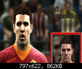 Erik Lamela Face PES 12 by shand68