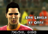 Erik Lamela Face by Onny