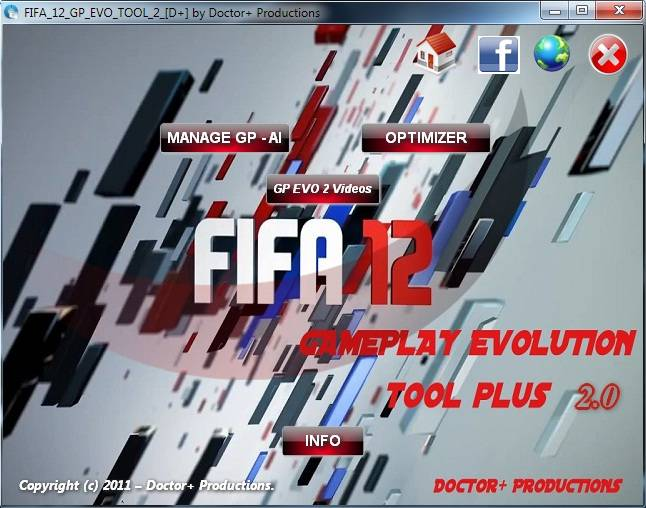 FIFA 12 Gameplay Evolution Fifa Tool plus 2.0