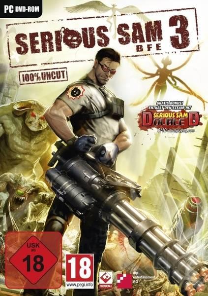 Serious Sam 3 - BFE Deutsche  Texte, Untertitel, Menüs Cover