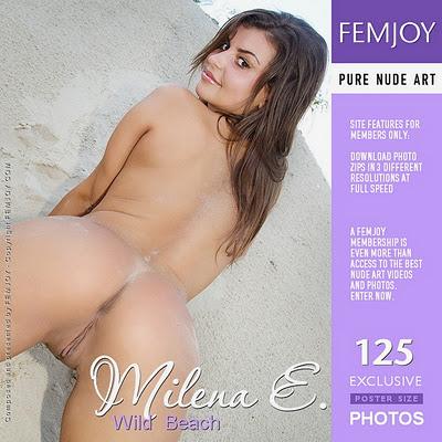 Femjoy Milena E - Wild Beach