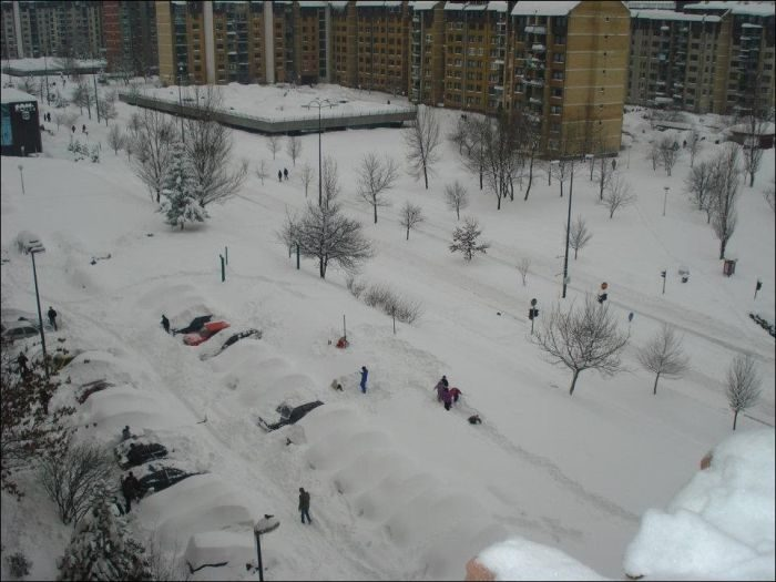 Śnieżna zima 2