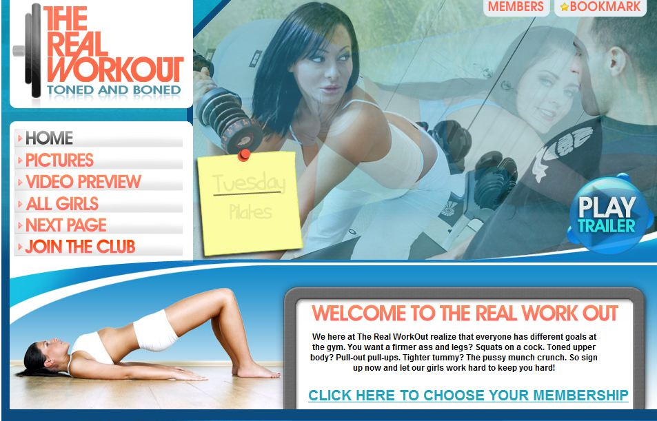 TheRealWorkOut.com HD SiteRip 720p Cover