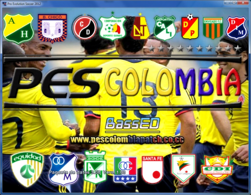Pes Colombia Patch OFICIAL By PesColombiaPatch