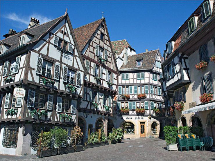 Miasta świata - Colmar [Francja] 41