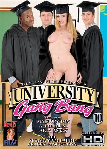 University Gang Bang 10 (2012/DVDRip)