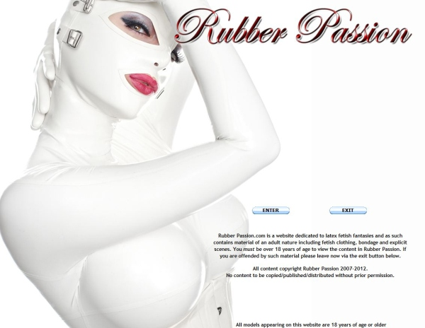 Rubber Passion SITERIP Cover
