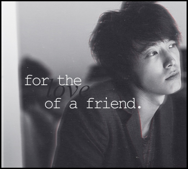 for the love of a friend. - angst donghae eunhae eunhyuk oneshot psychological - main story image