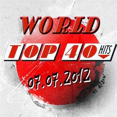 World Top 40 Singles Charts (07.07.2012) [Multi]
