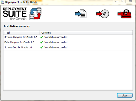 RedGate Deployment Suite For Oracle v1.8.2.271