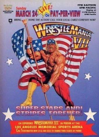 6kj6ftzs in WWe Wrestlemania 7 1991 VHS Rip German Xvid